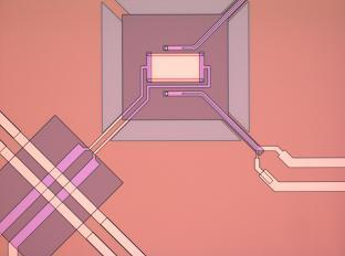 Ultra-sensitive superconducting TES detector