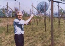 Antony Hewish and the 4-acre array