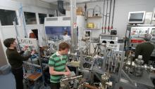Helium microscope lab