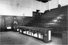 The Maxwell Lecture Theatre in the Old Cavendish