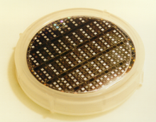 A processed wafer