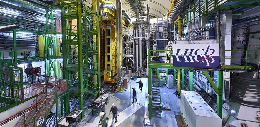 LHCb experiment - credit: CERN