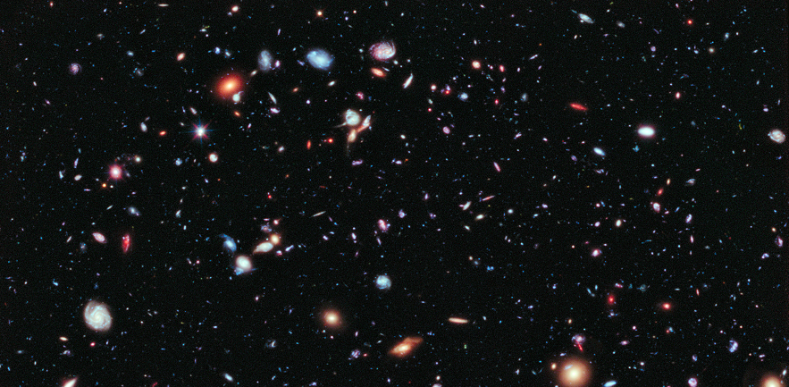 Hubble eXtreme Deep Field © ESA/Hubble