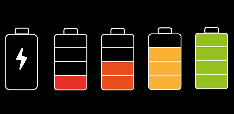 illustration of Battery Charging